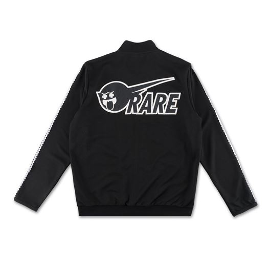 Picture of WAVE STRIPE TRACK TOP Black