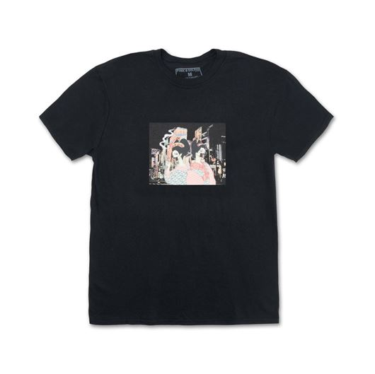 Picture of GEISHA CITY TEE Black