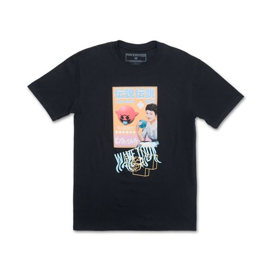 Picture of GHOST ZINE TEE Black