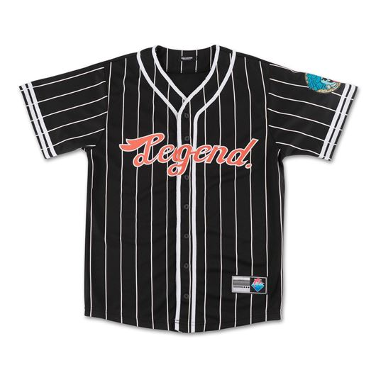 Picture of DOLPHIN SPLASH BASEBALL JERSEY Black