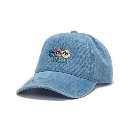 Picture of RARE FLOWER STRAPBACK Denim