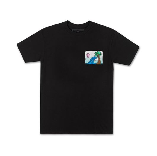 Picture of PORTRAIT TEE Black