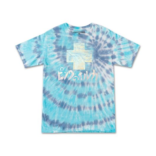 Picture of PROMO TIE DYE TEE Blue