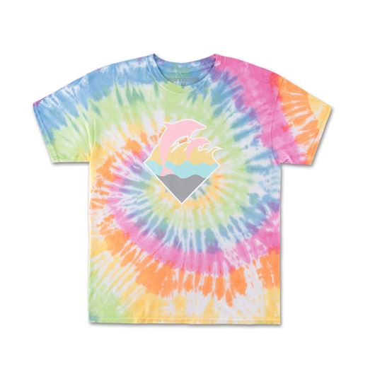 Picture of WAVES TIEDYE TEE Multi