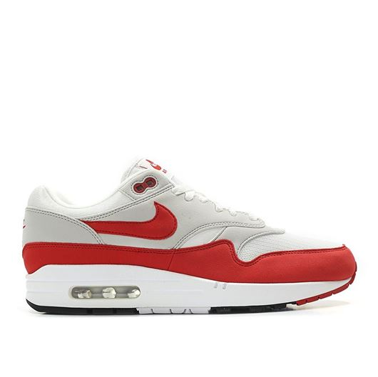 Picture of Nike Air Max 1 Anniversary white / red / grey