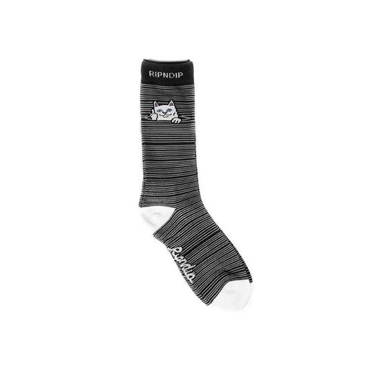 Picture of Peeking Nermal Socks Black