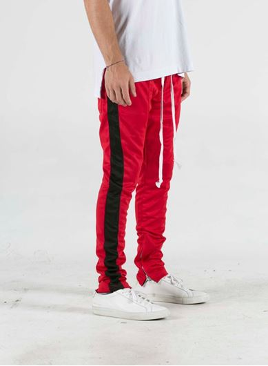 Picture of FB TRACK PANT Red/Black