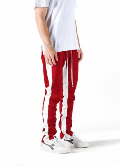 Picture of FB TRACK PANT Red/White
