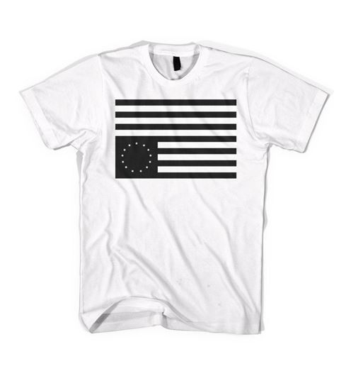 Picture of REBEL FLAG Tee White