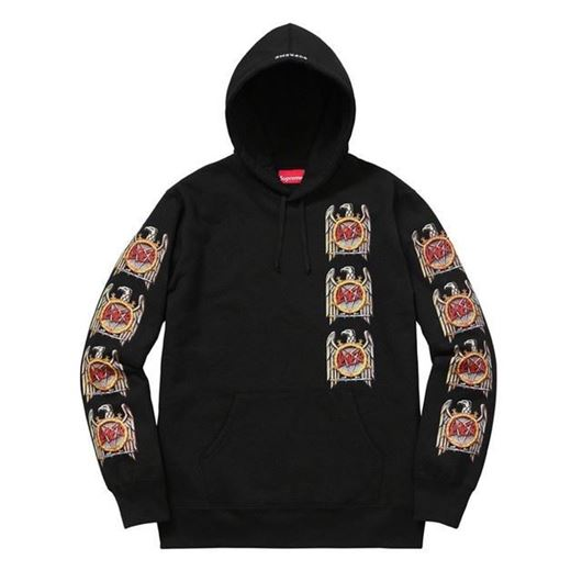 Picture of Slayer Eagle Hoody Black