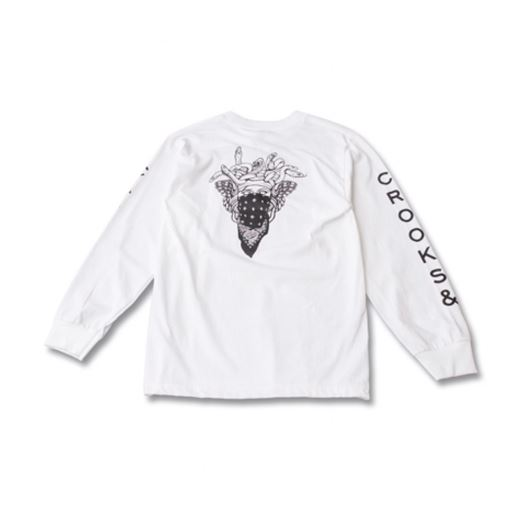 Picture of Bandusa L/S Tee White