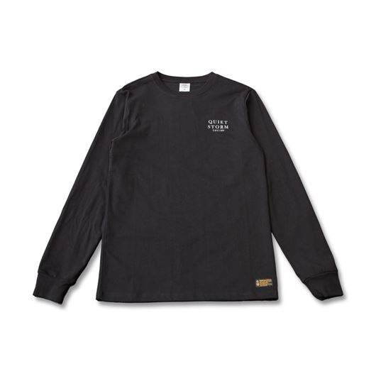 Picture of Quiet Storm L/S Tee Black