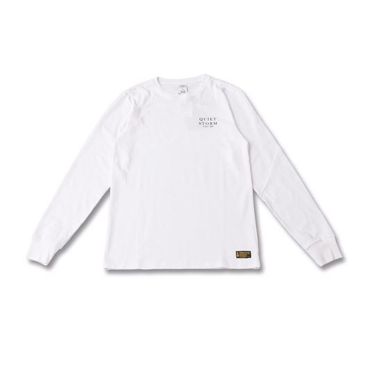 Picture of Quiet Storm L/S Tee White