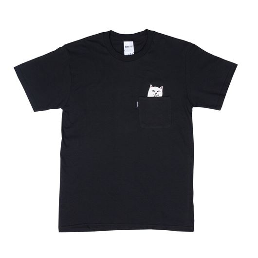 Picture of Lord Nermal Pocket Tee Black