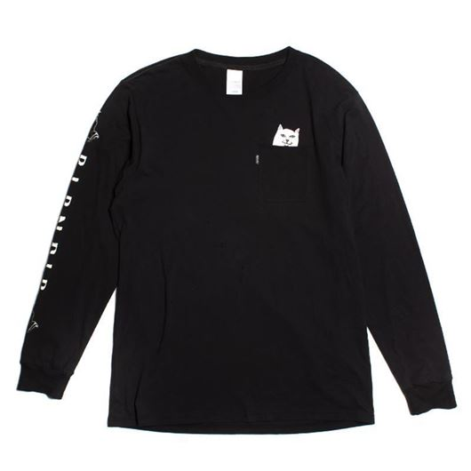Picture of Lord Nermal Pocket L/S Tee Black