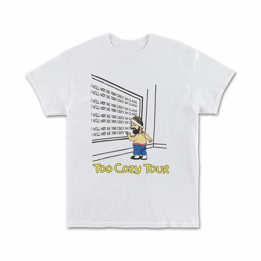 Picture of DETENTION GRAPHIC - S/S White