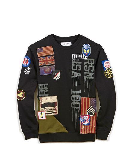 Picture of Barracks Sweatshirt Black