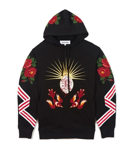 Picture of Insignia Hoodie Black