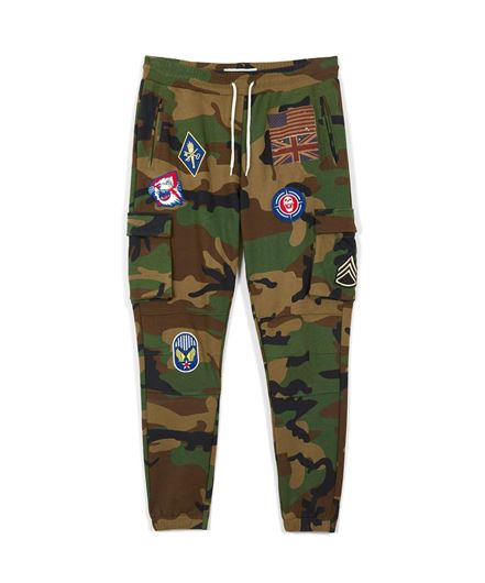 Picture of Regiment Cargo Joggers Camo
