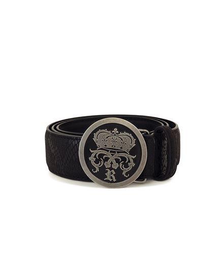 Picture of Snake Skin Belt Silver