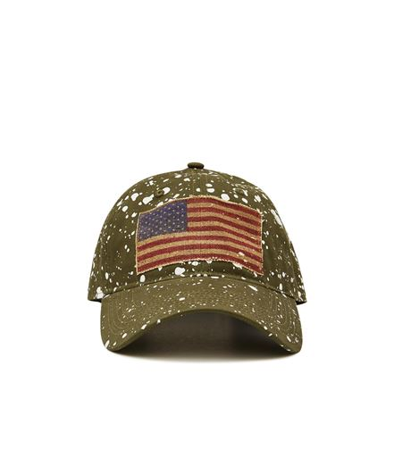 Picture of USA Patch Flag Cap Camo