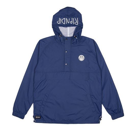 Picture of Everything'll Be Okay Anorak Jacket Navy