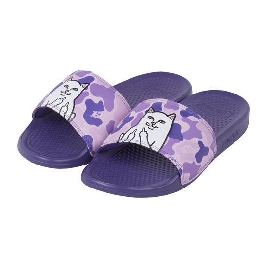 Picture of Lord Nermal Slides Purple Camo