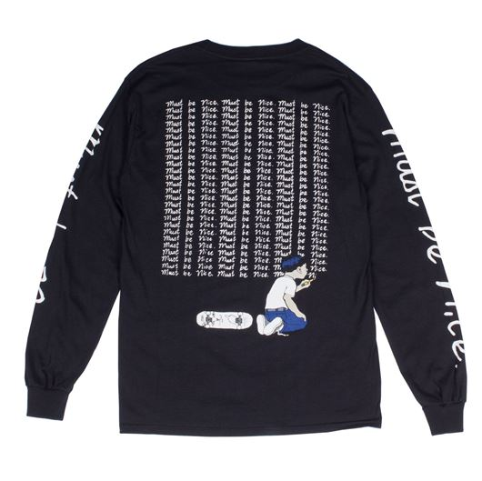 Picture of Standards L/S Tee Black