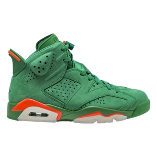 Picture of Nike Air Jordan 6 IV Retro NRG G8RD Gatorade Pine Green