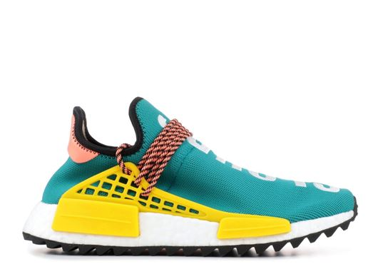 Picture of adidas Human Race NMD Pharrell Sun Glow Core Black EQT Yellow