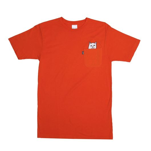 Picture of Lord Nermal Pocket Tee Orange