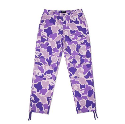 Picture of Nermal Camo Cargo Pants Camo