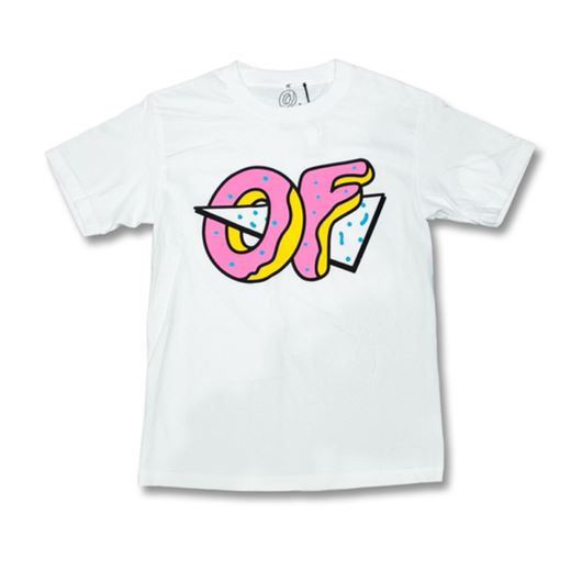 Picture of PUNTURED OF LOGO TEE White