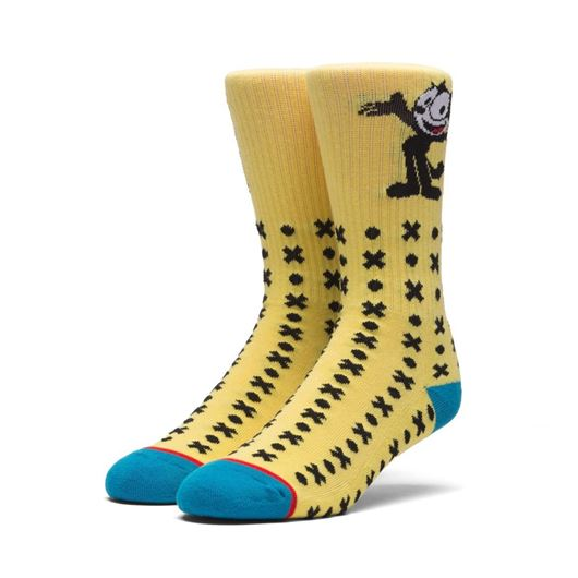 Picture of FELIX CLASSIC H CREW SOCKS Banana