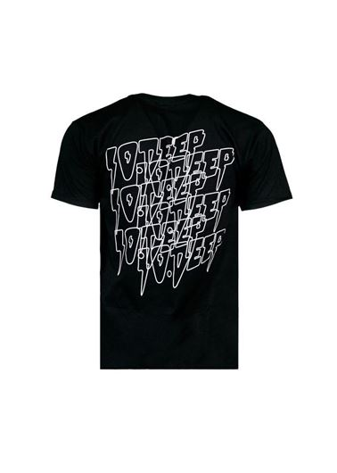 Picture of DOUBLE VSION SS Tee Black