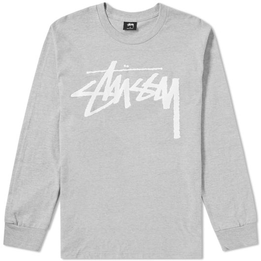 Picture of OLD STOCK LS TEE Heather Grey