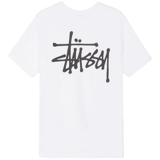 Picture of BASIC STUSSY TEE White