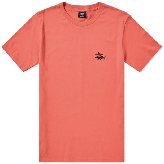 Picture of BASIC STUSSY TEE Rose