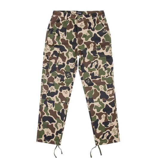 Picture of Nermal Camo Cargo Pants Army Camo