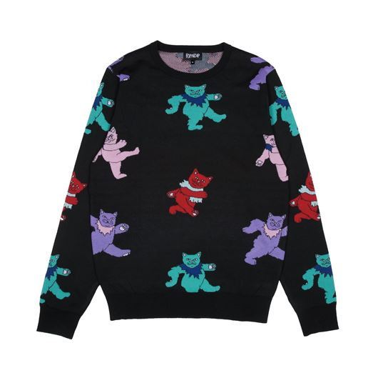 Picture of Dancing Nerm Knit Sweater  Black