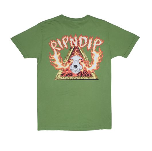 Picture of Inferno Tee Olive