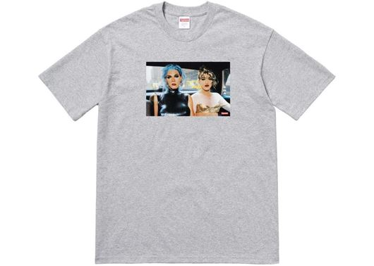 Picture of Nan Goldin Misty and Jimmy Paulette Tee Heather Grey