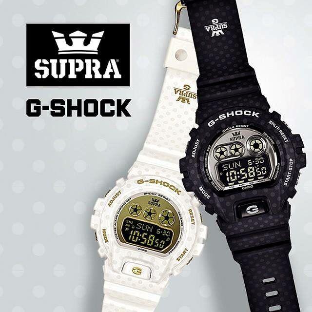 G-SHOCK x SUPRA