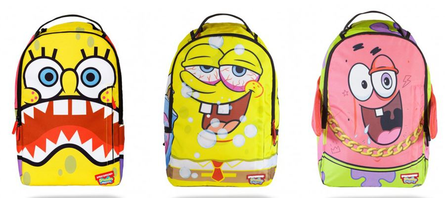 Sprayground x Spongebob