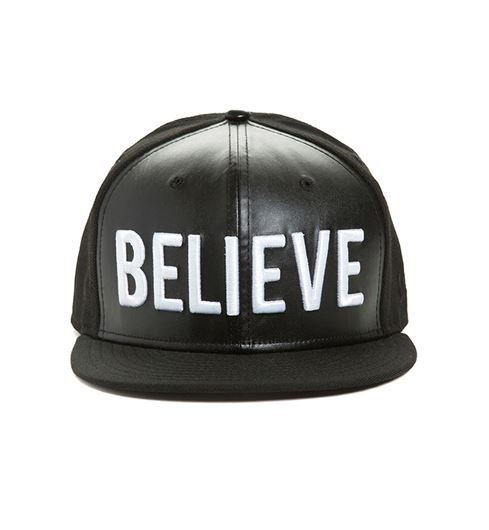 Picture of BELIEVE SNAPBACK Black