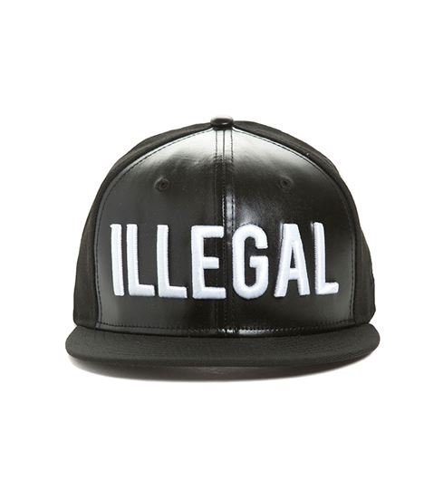 Picture of ILLEGAL SNAPBACK Black