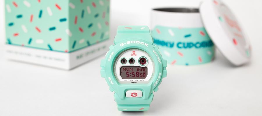 G-Shock x Johnny Cupcakes