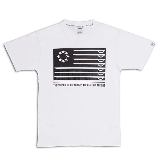 Picture of Fight For Justice Flag Tee White
