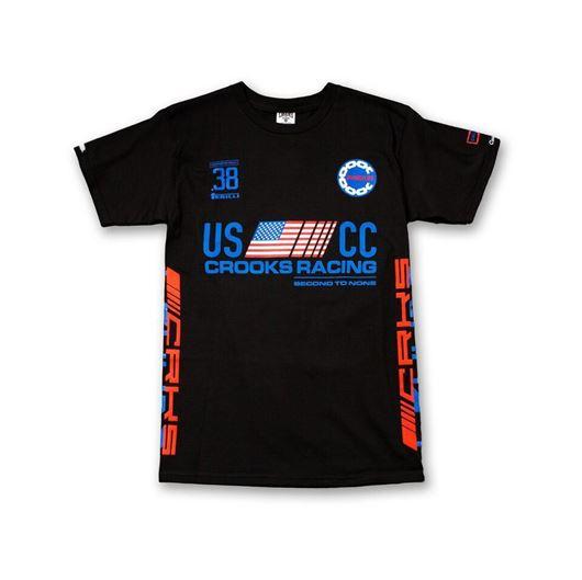 Picture of U.S. Crooks Racing Tee Black