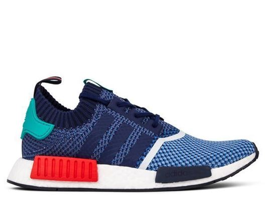 Picture of adidas consortium NMD_R1 PK PACKERS CLEAR SKY / DARK BLUE / LIGHT AQUA